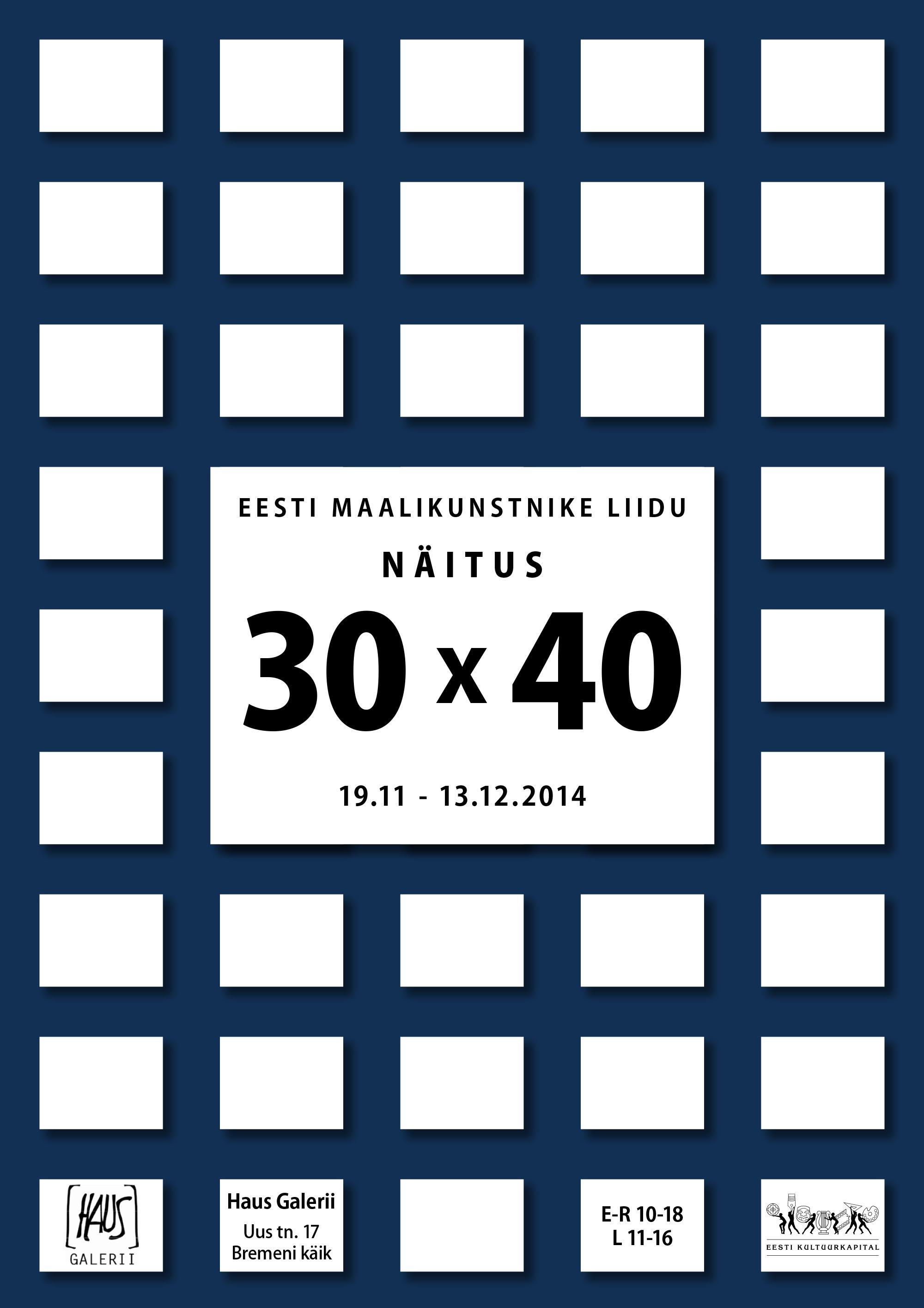 30 x 40 plakat