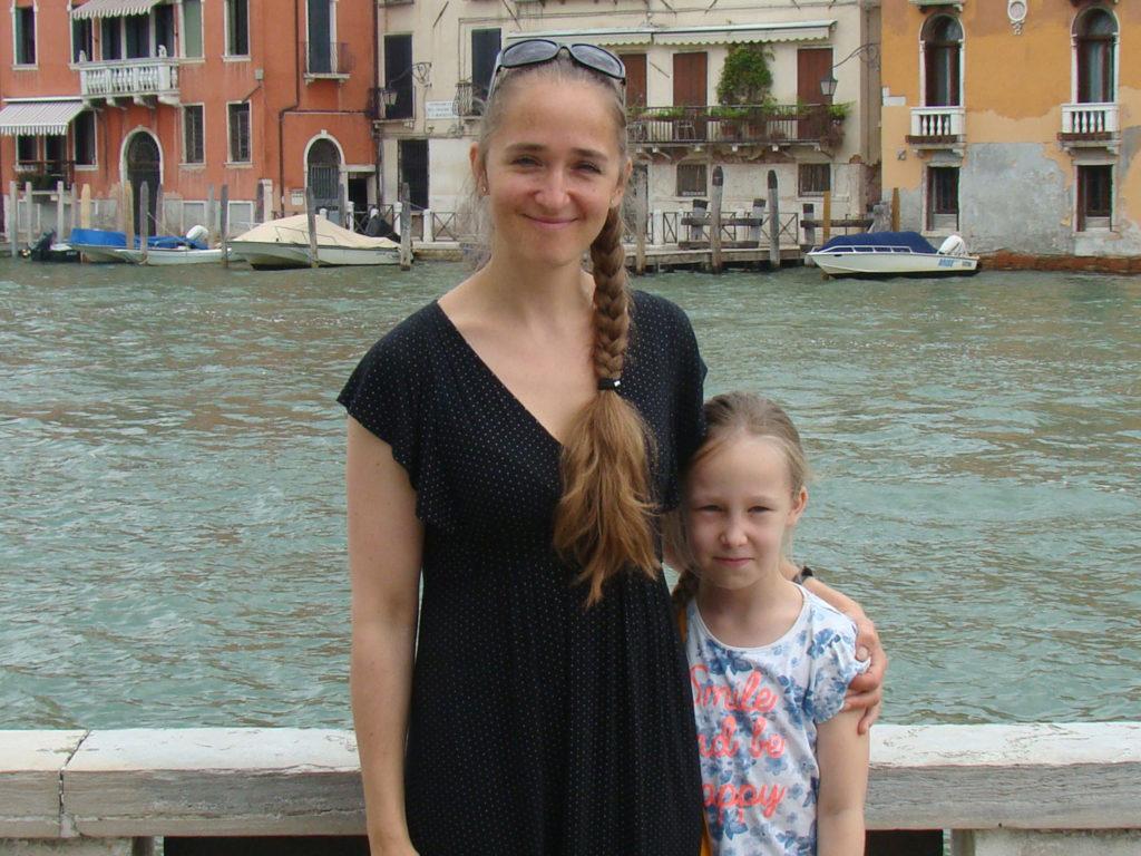 Tütrega Veneetsias. 2017