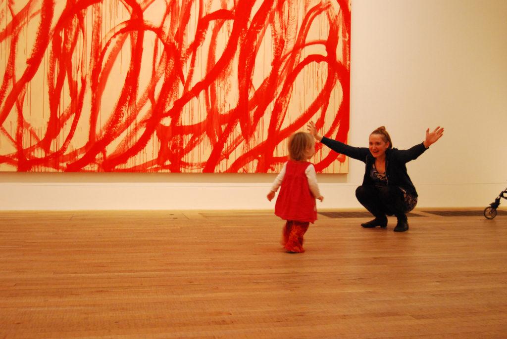 Emotsionaalne maal Tate Modern London. 2011