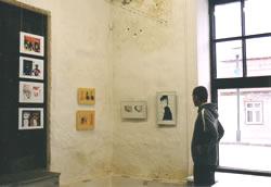 Graafika osa oli Lastekunstikooli galeriis