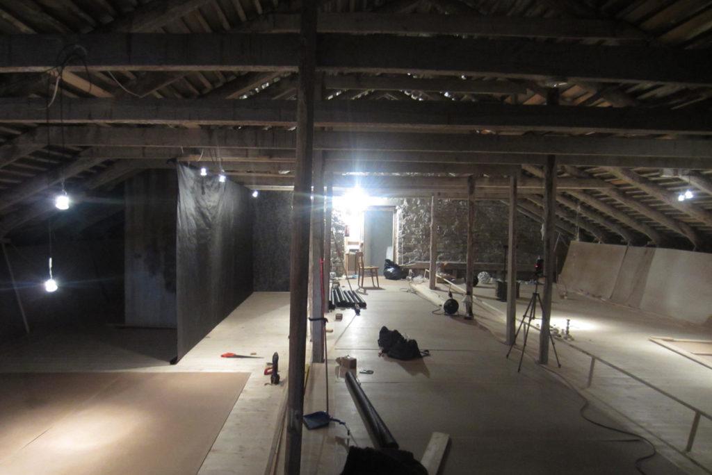 III korruse näituse ehitus