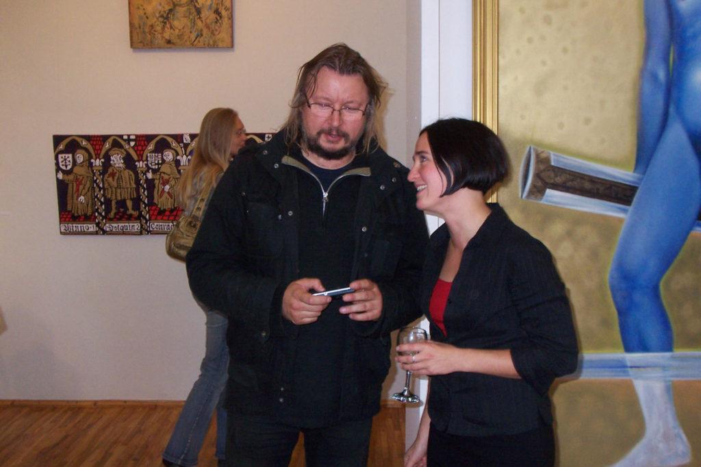 Näituse avamine-vestlus Ilmar Kruusamäega