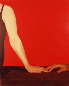 Side I. 2004. Õli lõuendil. 150 x 120 cm. Erakogus.