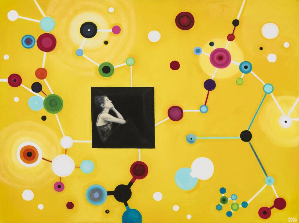 5. Kaua võib, õli lõuendil, 2020 a., 170 x 127 cm.