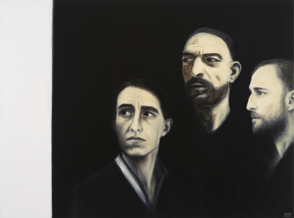 Ühtsus. 2020. Õli lõuendil. 127 x 170 cm.