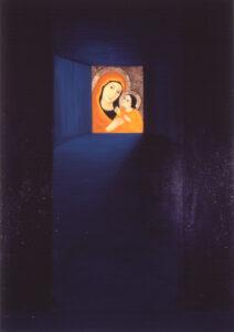 Lahendus,2006, õli lõuendil, 195 x 137 cm