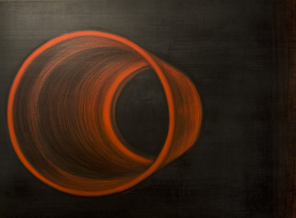 2. Reaalajas,2011, õlipastell puidul, 80 x 60 cm