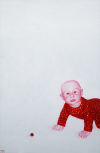 3. Miks,2008, akrüül lõuendil, 140 x 80, cmerakogus