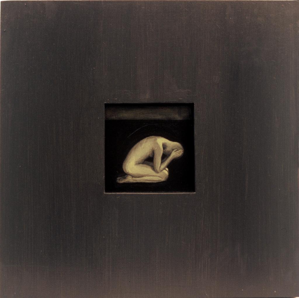 Tervenemine II,2002, akrüül alusel, 40 x 40 cm