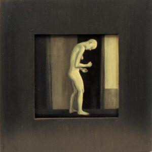 6. Tervenemine IV, 2002,akrüül alusel, 40 x 40 cm