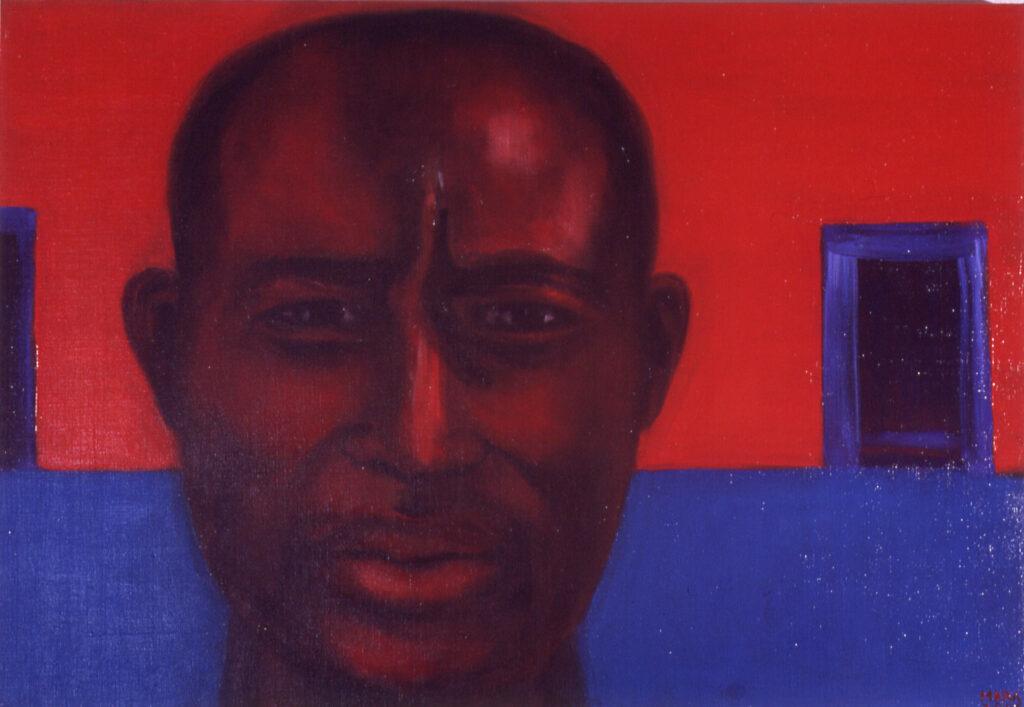 7.Otsustusvõimetu, 2006, õli lõuendil, 87 x 60 cm, erakogus